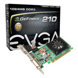 Tarjeta De Video Nvidia Evga  Geforce 200 Series 210 01g-p3-1313-kr 1gb