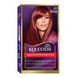 Tintura Wella Koleston Kit Permanente Rojo Cereza 6646
