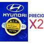 Tapa Radiador Accent Getz Excel Elantra ( 0.9 Bar / 13 Lbs)  Hyundai Elantra