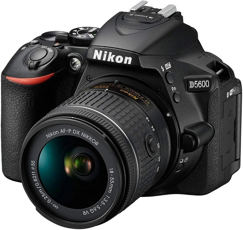Camara Profesional Nikon D5600 + Wifi + Lente 18-55