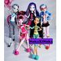 Vestido Roupa Para Boneca Monster High Ever After + Brinde Original