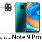 Repuesto Vidrio De Cámara Para Xiaomi Redmi Note 9 Pro