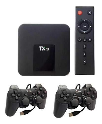 Vídeo Game Retro Tv Box 64 Gb Com 21 Mil Jogos