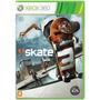 Jogo Novo Midia Fisica Skate 3  Da Ea Para Xbox 360 Original