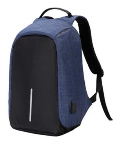 Mochila Backpack Antirrobo Impermeable Puerto Usb Laptop