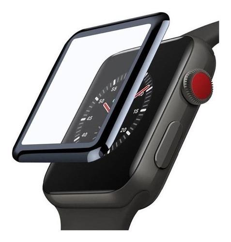 Vidrio Templado Apple Watch 44mm Semiflexible 9h Serie 6 .