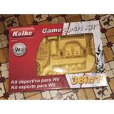 Kit Deportivo Para Wii Nintendo 38in1 Kolke Nuevo Sin Uso