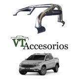 Barra Jaula Antivuelco Cromado Fiat Toro