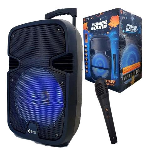 Parlante Bluetooth Portatil Recargable + Microfono De Regalo