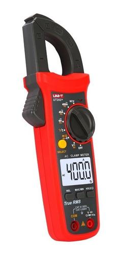 Uni-t  Pinza Amperométrica Ut202+ Proteccion Sobrecargas