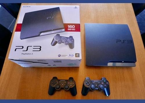 Sony Playstation 3 Slim 160gb Standard Ps3 Escucho Ofertas!