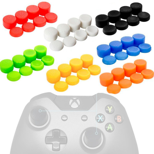 8pack Kontrolfreeks, Gomas De Joisticks,para Ps4 Ps5, Xbox