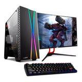 Pc Gamer Completa Amd Ryzen 3 2200g 8gb Ssd 240gb Wifi