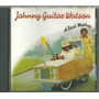 Cd Johnny Guitar Watson - A Real Mother - Made In Germany Original