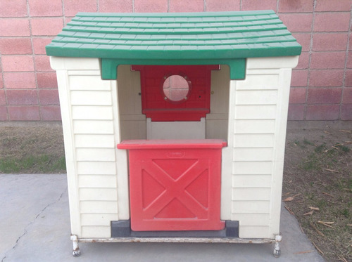 Venta De Casita Little Tikes Seda Mano, Little Tikes Outdoor House