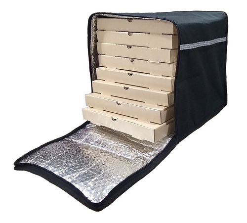 Bolso Mochila Termico Delivery Pizzas Impermeable Alpina Sti