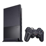Sony Playstation 2 Slim Standard Cor  Charcoal Black