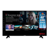 Smart Tv Enxuta 40' Fullhd Wifi Android Netflix Youtube Loi