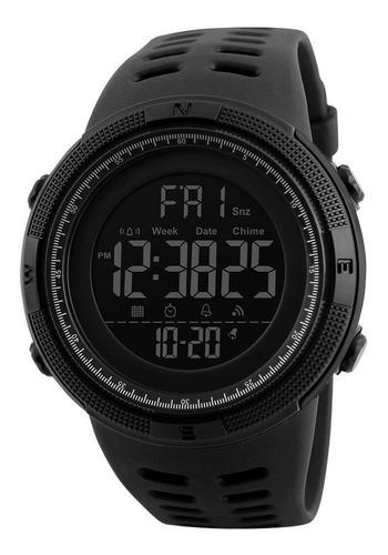 Reloj Pulsera Malla Silicona Deportivo Modelo 1251 Crono