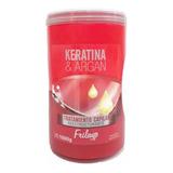 Tratamiento De Keratina Y Argan Frilayp Baño Capilar 1 Kilo