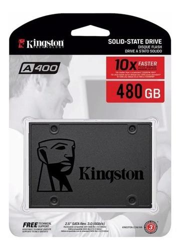 Disco Solido Ssd Interno 480gb Kingston A400 Pc/notebook