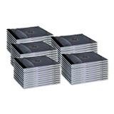 Caja Plastica Cd Slim 5.2 Mm Pack 50 Uni. Calidad Premium