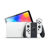 Nintendo Switch Oled 64gb Standard Color  Blanco Y Negro