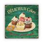 Quadro Presente 45x35cm Cup Cake Bolo Retrô Vintage Original