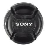 Tapa De 40.5mm Para Lente Sony Incluye Correa - Envío Gratis