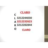 Numeros Facil Recordacion Claro Prepago Simcard Reposicion