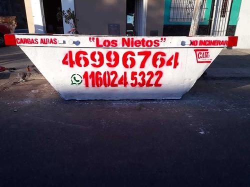 Alquiler De Volquetes Y Volquetines Zona Oeste  Los Nietos.