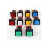 Botones Para Arcade Con Luz Led X 5 Unidades