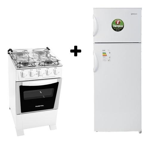 Refrigerador James /thompson C/freezer + Cocina Punktal 4h