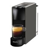 Cafetera Nespresso Krups Essenza Mini C30 Automática Intense Grey Para Cápsulas Monodosis 127v
