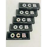 5 Papel Ocb Negro Gris Blue Organico Virgin Ultimate Candy