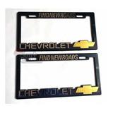 Par (2) Porta Placas Chevrolet