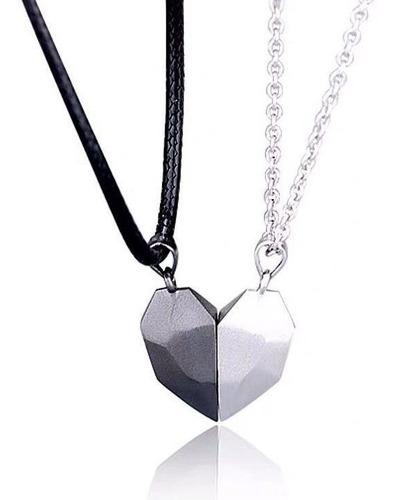 Collares Magnéticos Parejas Novios Amor Imán Regalo Amistad