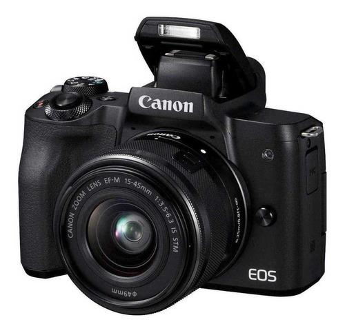 Canon Eos M50 15-45mm Is Stm Kit Sin Espejo 24 Mpx Wifi