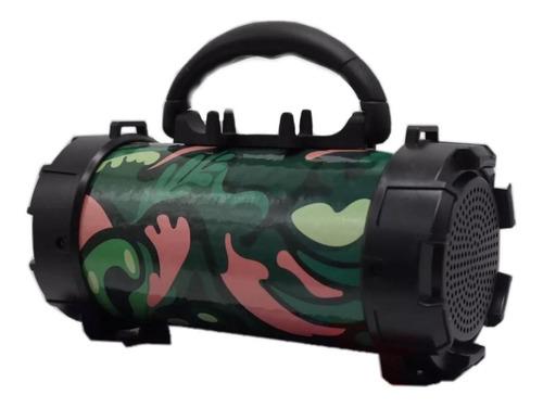 Parlante Bluetooth Portatil Usb Musica Sd 10w Linterna