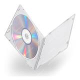 Caja Estuche Transparente Para Cd Dvd Pack X 10
