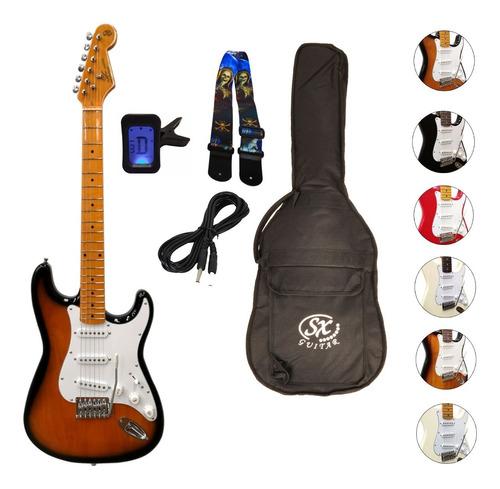 Guitarra Eléctrica Stratocaster  De Estudio C/funda Oferta!!