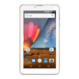 Tablet  Multilaser M7 3g Plus Dual Nb30 7  16gb Rosa Com 1gb De Memória Ram