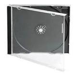Estuches Para Cdr Jewel Box Caja Case Cd Standard  50 Pzas