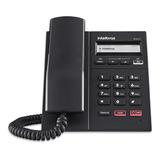 Telefone Ip Intelbras 2x10/100 Display Led Viva-voz Tip 125i