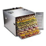 Maquina Deshidratadora De Alimentos, Gran Capacidad Secador