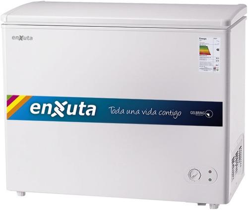 Freezer Horizontal Enxuta Fh300 Tapa C/llave Ciega O Vidrio