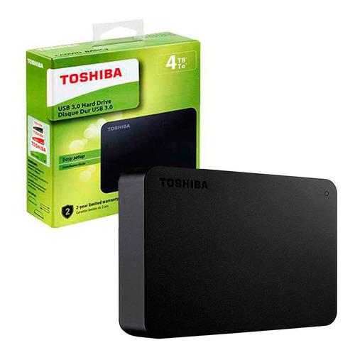 Disco Duro Externo Toshiba Canvio Basics Hdtb440xk3ca 4tb