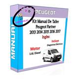 Manual De Taller Peugeot Partner 2013 2014 2015 2016 2017