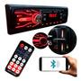 Rádio Mp3 Automotivo Carro Bluetooth 2x Usb Sd Aux Original