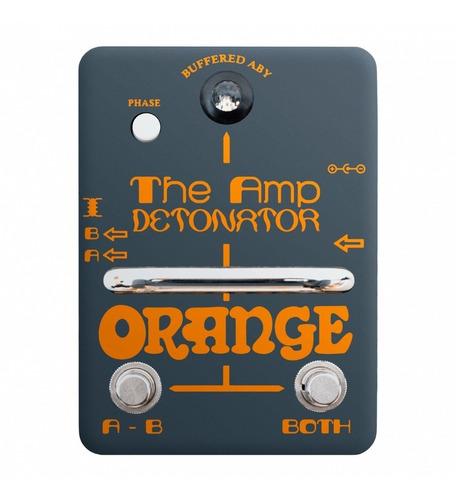 Pedal Selector A/b/y Orange Amp Detonator